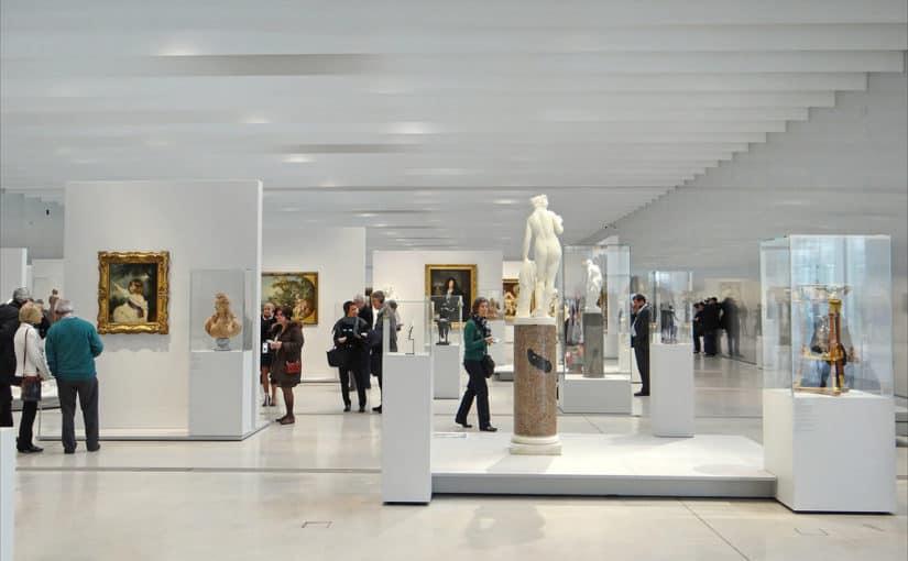 La Galerie du Temps du Louvre Lens