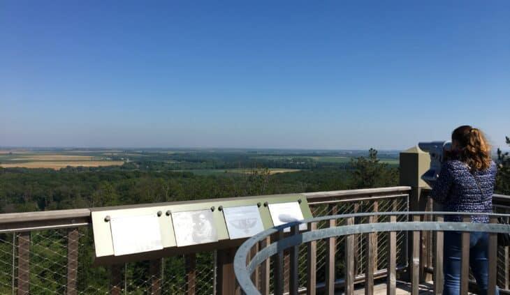 Tour d'observation Mangin un poste avancé pour observer le Pays de Retz en Valois